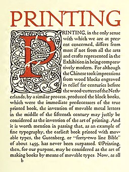 Printing by William Morris
