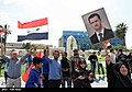 Pro-government Syrians demonstration in Damascus after US missile strike 10.jpg