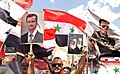 Pro-government Syrians demonstration in Damascus after US missile strike 11.jpg