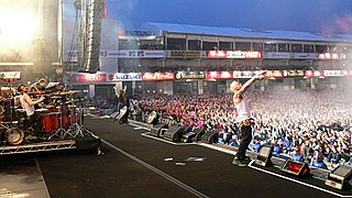 Rock am Ring and Rock im Park Annual music festivals held jointly in Germany