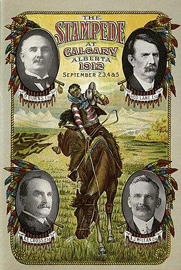 Program for 1912 Calgary Stampede