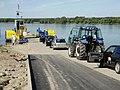 Prom na Wiśle w Nieszawie. Ferry in Nieszawa (Poland, Vistula river) (1).JPG