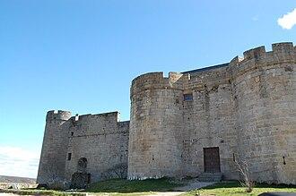 Puebla de Sanabria - Castle of Puebla de Sanabria, Main entrance.