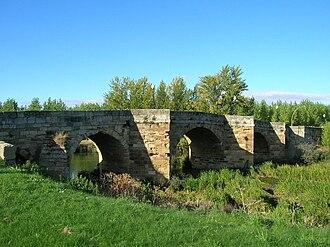 Sahagún - Image: Puente Cea Sahagún