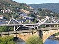 Puente Romano y Puente del Milenio. Ourense..JPG