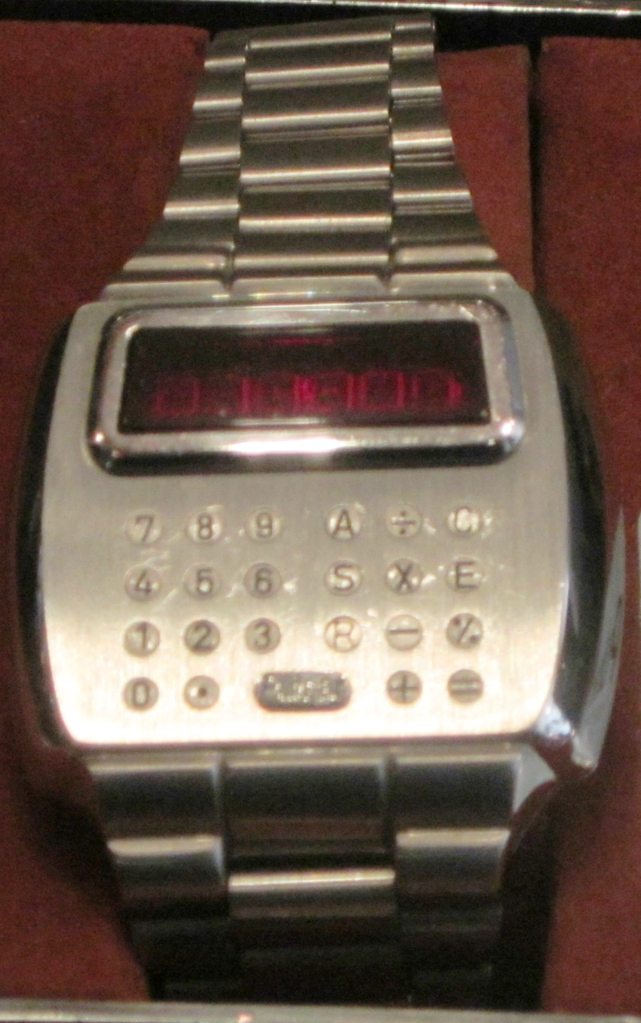 File Pulsar Led Calculator Watch World Museum Liverpool