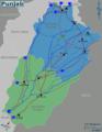 Punjab travel map.png
