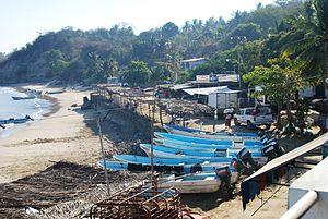 Cuajinicuilapa (municipality) - View of Punta Maldonado