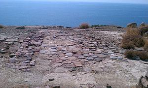 Myrtos Pyrgos - Pyrgos Myrtos overlooking the Libyan Sea