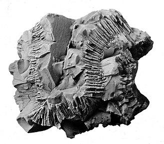 Pyrolusite - Image: Pyrolusite USGS ID Stose, GW 1425