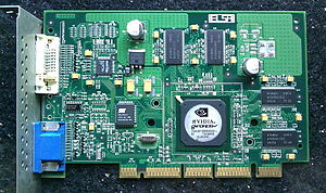 Accelerated Graphics Port - AGP Pro graphics card