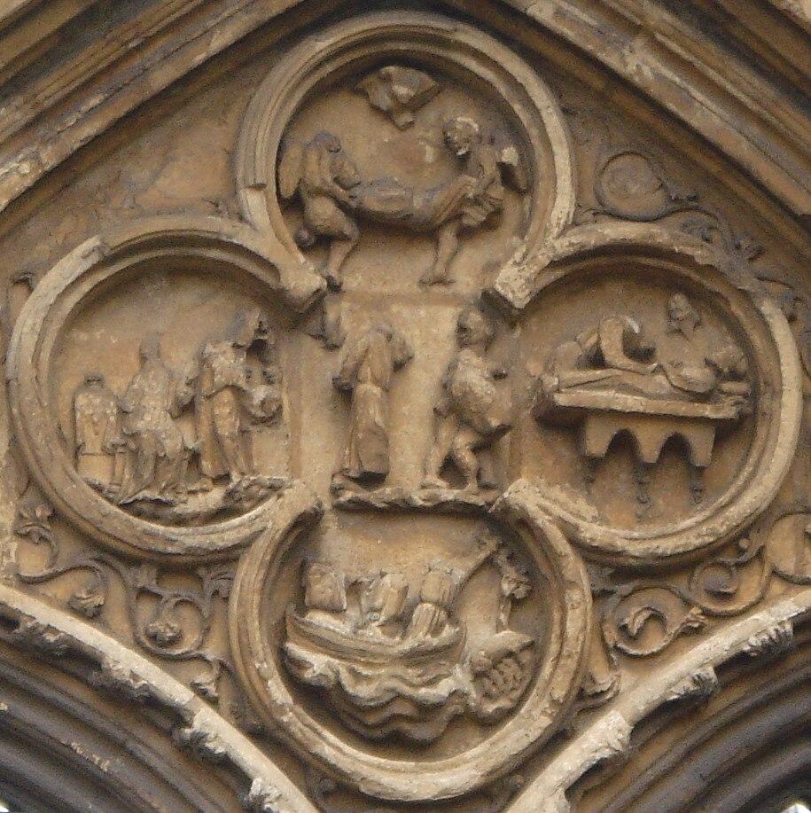 Quatrefoil, St. Guthlac, Croyland Abbey