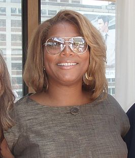 Queen Latifah tijdens de Grammy Awards (2006)