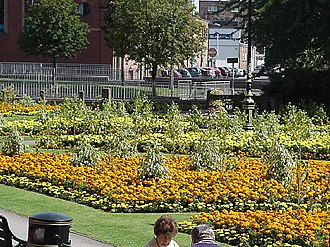 Newcastle-under-Lyme - Queen's Gardens