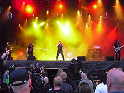 I Queensryche live al Norway Rock Festival nel 2010