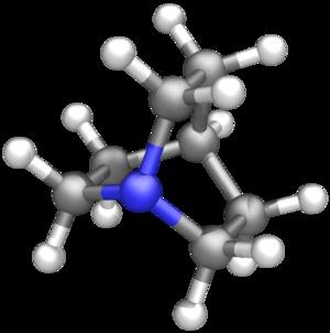 Quinuclidine - Image: Quinuclidine 3D