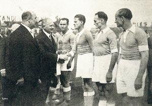 Elek Schwartz - Schwartz was Coupe de France finalist with RC Strasbourg in 1937.