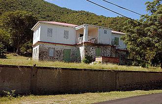 William Thornton - Ruins of the Thornton Plantation at Tortola