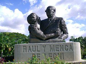 Raúl Leoni - Monument to Leoni and his wife Menca, Ciudad Bolívar, Venezuela
