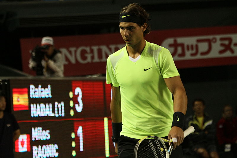 File:Rafael Nadal - Milos Raonic - 8500 Japan Open Tennis Tokio 2010.jpg
