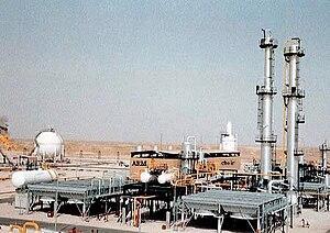United States support for Iraq during the Iran–Iraq war - Image: Rafinerija