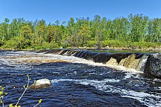 Whiteshell River - Rainbow Falls