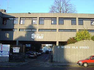 Radio Tay - Radio Tay offices in Dundee