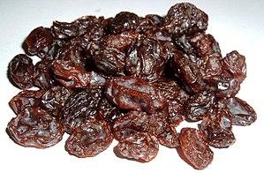 Tu BiShvat seder -  Raisins