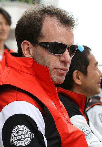 Ralph Firman - Image: Ralph Firman 2008 Super GT