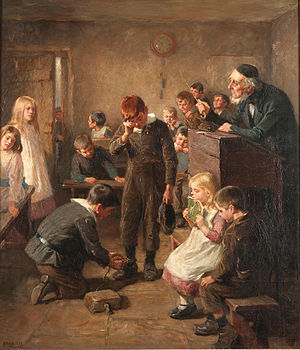 Truancy - Ralph Hedley: The Truant's Log, 1899