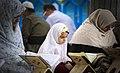 Ramadan 1439 AH, Qur'an reading at Jameh Mosque of Sanandaj - 17 May 2018 01.jpg