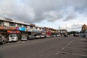 Ranau - Ranau town centre.