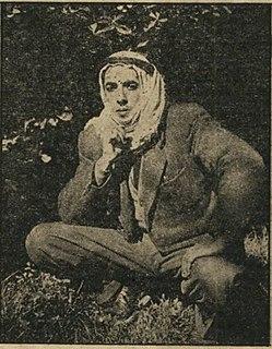 Rashid Hussein Palestinian poet