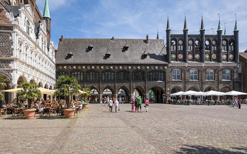 Rathaus Lübeck (im Juni 2017)