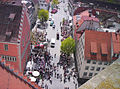 Ravensburg Blick vom Blaserturm auf den südlichen Marienplatz.jpg