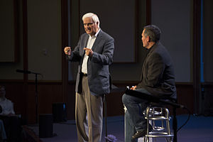 Ravi Zacharias - Ravi Zacharias talks to pastor Joe Coffey at Christ Community Chapel about answering objections to Christianity.