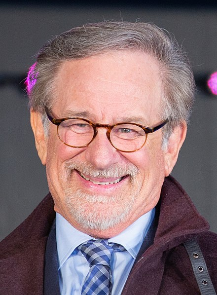 Spielberg promoting Ready Player One (2018) in Japan. Ready Player One Japan Premiere Red Carpet Steven Spielberg (40713131765) (cropped).jpg