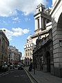 Rear of St Mary Woolnoth as seen from Post Office Court - geograph.org.uk - 1816960.jpg