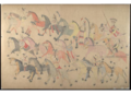 Red Horse pictographic account of the Battle of the Little Bighorn, 1881. 1000.png