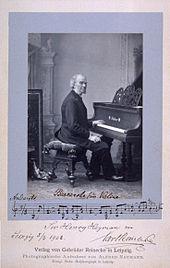 Alfred Naumann: CarlReinecke, 1893 (Quelle: Wikimedia)