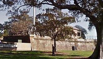 Observatory Park, Sydney - Remains of Fort Phillip today