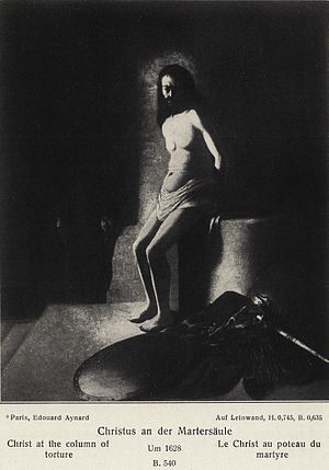 Christ at the column (Bredius 534)