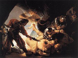 The Blinding of Samson - Image: Rembrandt The Blinding of Samson WGA19097