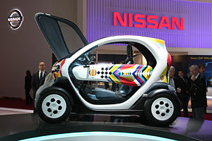 The Twizy Z.E. Concept is an electricity-power...