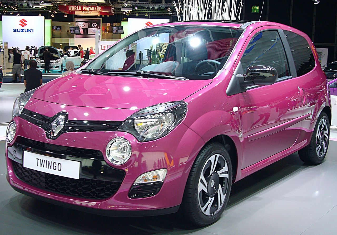 file renault twingo phase ii front jpg wikimedia commons. Black Bedroom Furniture Sets. Home Design Ideas