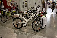Rental electric bicycles from Znojmo at Regiontour 2010.jpg