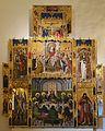 Retaule de la mare de Déu dels Àngels i de l'Eucaristia, Joan Reixac, museu catedralici de Sogorb.JPG