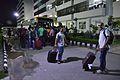 Return Of Scholarship Holders To Hotel - Wiki Conference India - Chandigarh University - Mohali 2016-08-04 5993.JPG