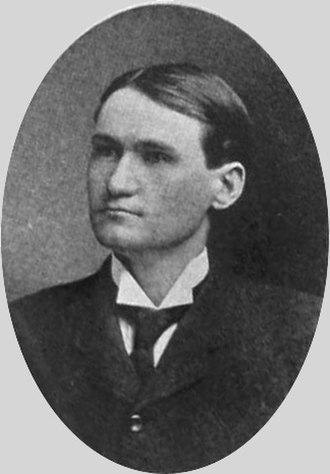 Reuben F. Booth - Booth pictured in The Bell Clapper 1905, Kansas State yearbook