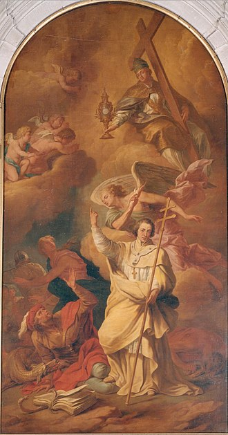 Richard van Orley - Glorification of St. Norbert